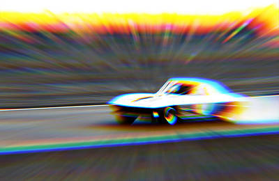 Photograph - Fast on the Track by Mediamerge - Dan Roitner