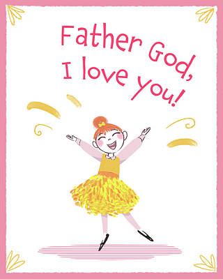 Digital Art - Father God, I Love You by Amy Rodriguez