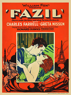 Royalty-Free and Rights-Managed Images - Fazil, with Charles Farrell and Greta Nissen, 1928 by Stars on Art