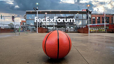 Sports Royalty-Free and Rights-Managed Images - FedEx Forum by Jerry Fornarotto