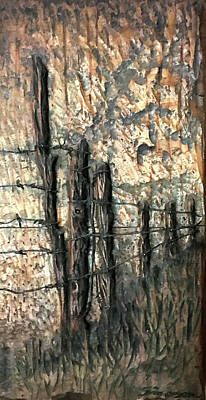 Sculpture - Fence by Doug Simpson