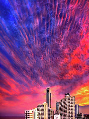 Royalty-Free and Rights-Managed Images - Ferocious Firmament by Az Jackson