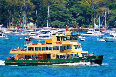 Typographic World - Ferry, Supply, Sydney, Australia. by Joe Vella