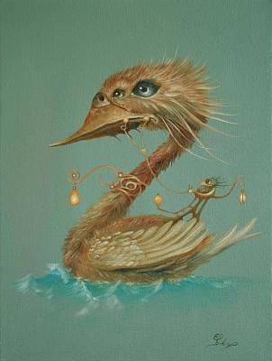 Painting - Ferryman by Ed Schaap