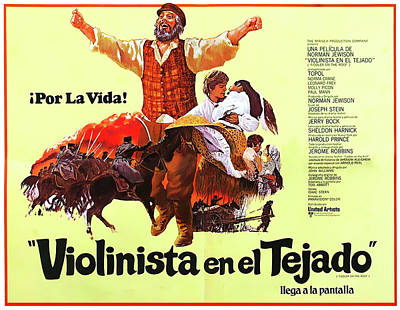 Royalty-Free and Rights-Managed Images - Fiddler on the Roof, with Topol, 1971 by Stars on Art