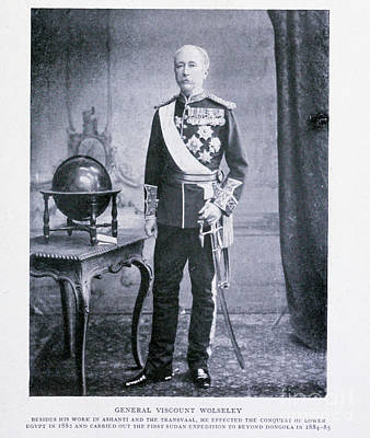Drawings Royalty Free Images - Field Marshal Garnet Joseph Wolseley, i Royalty-Free Image by Historic illustrations