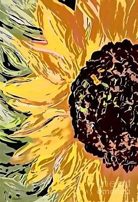 Staff Picks Cortney Herron - Fiery Sunflower by Eloise Schneider Mote