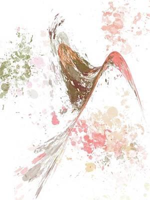Digital Art - Finding a Bridge to Peace by Joan Ellen Kimbrough Gandy of The Art of Gandy