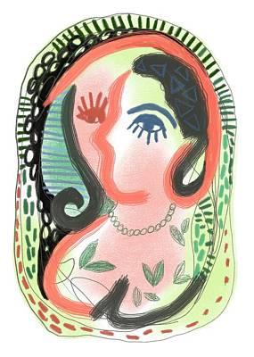 Digital Art - Finding Self by Jennifer Lommers