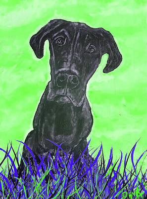 Painting - Finley Green by Dink Densmore