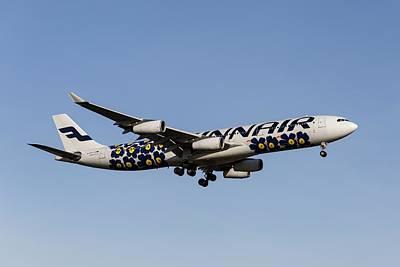 Tina Turner - Finnair Airbus A340-313  by David Pyatt
