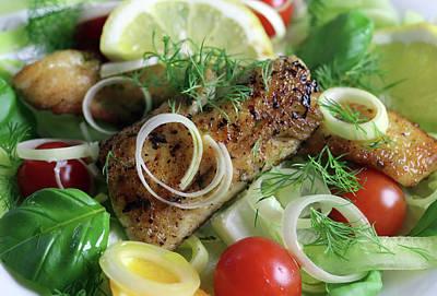 Keith Richards - Finnish Pike Perch Salad by Johanna Hurmerinta