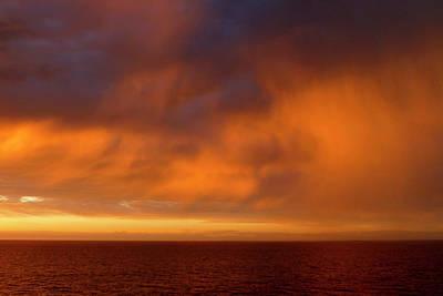 Photograph - Sunset Rain by Lucinda Walter