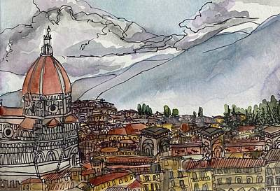 Painting - Firenze by Meredith Palmer