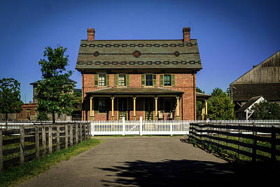 Photograph - Firestone Farmhouse by Michael Osinski