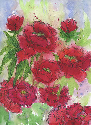 Painting - First Bloom by Beth Taylor
