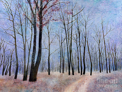 Claude Monet - First Frost by Hailey E Herrera