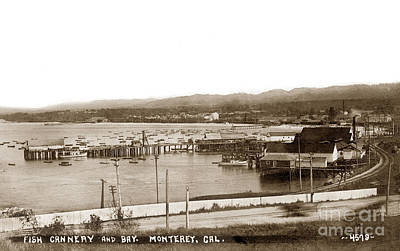 Beastie Boys - Fish Cannery and Bay, Monterey, Cal.  1910 by California Views Archives Mr Pat Hathaway Archives