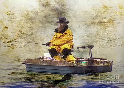 Thomas Kinkade - Fisherman  by Anthony Ellis