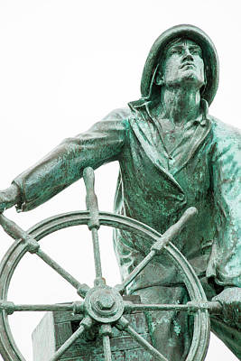 Achieving - Fishermans Monument by Karol Livote