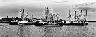 Photograph - Fishing Boats by Louis Dallara