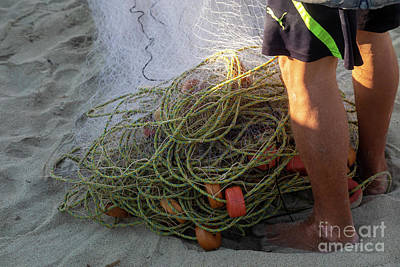 Just Desserts - Fishing Net by Jim West