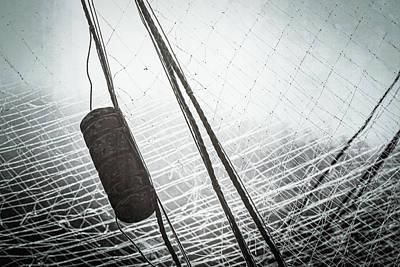 Photograph - Fishing Nets by Carl Simmerman