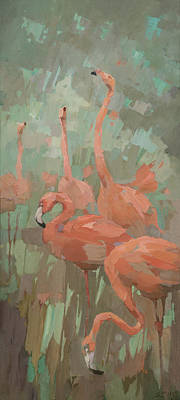 Painting - Flamboyance by Steve Mitchell