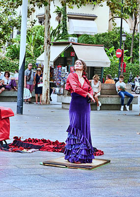Tina Turner - Flamenco in the Park - Seville by Allen Beatty