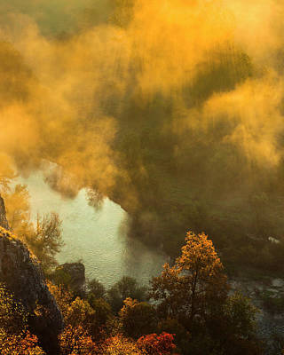 Abstract Royalty-Free and Rights-Managed Images - Flames Of Autumn by Evgeni Dinev