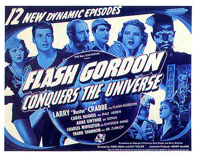 Mixed Media Royalty Free Images - Flash Gordon movie poster 1940 Royalty-Free Image by Stars on Art