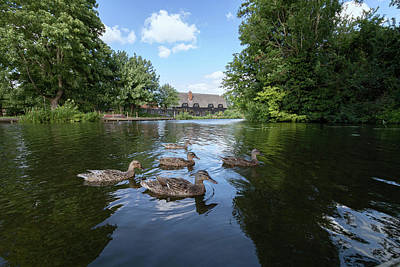 City Scenes - Flatford Mill Suffolk  by Martin Newman