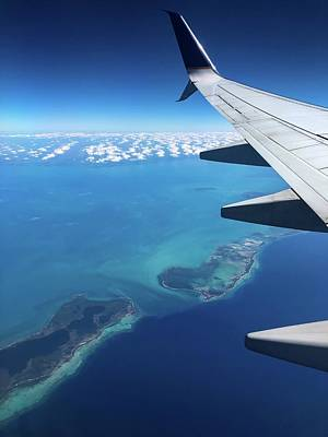 All American - Flight over Islands of the Caribbean by Marlin and Laura Hum