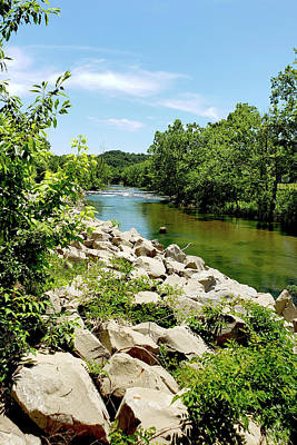 Photograph - Flint Creek by Debbie Smith