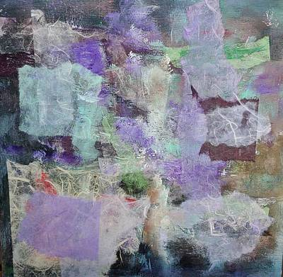 Mixed Media - Floating Lavendar by Rose Cofield