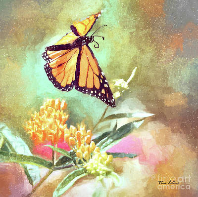 Graduation Sayings - Floating Monarch by Tina LeCour