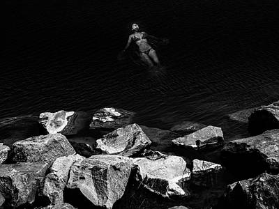 Photograph - Floating to the Abyss by David Oakill