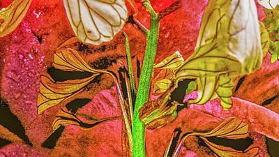 Keith Richards - Floral Fantasy by Rob Hemphill