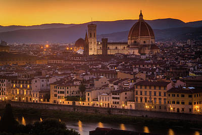 Audrey Hepburn - Florence Duomo by Andrew Soundarajan
