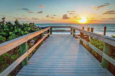 Photograph - Florida Sunrise by R Scott Duncan