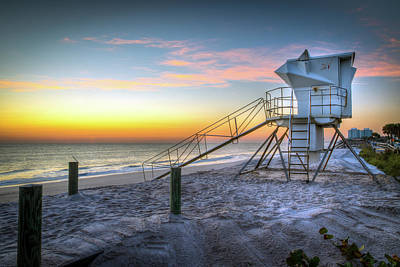 Photograph - Florida Sunrise Seascape by R Scott Duncan