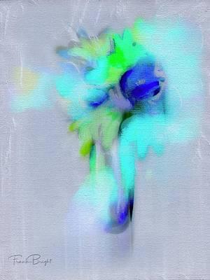 Digital Art - Flower Cluster by Frank Bright