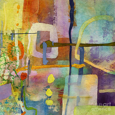 Target Threshold Watercolor - Flower Dance-Yellow by Hailey E Herrera