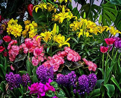 Photograph - Flowers For You by Allen Nice-Webb