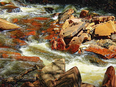 The Champagne Collection - Flowing Creek by Anthony Dezenzio