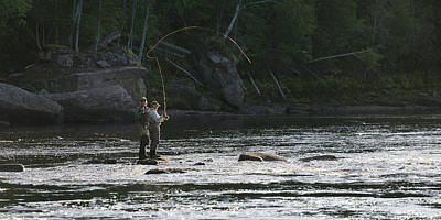 Grace Kelly - Fly fishing lessons by Murray Rudd