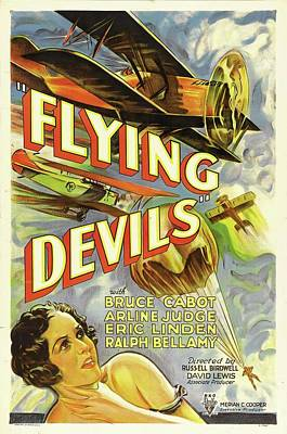 Royalty-Free and Rights-Managed Images - Flying Devils, with Bruce Cabot, 1933 by Stars on Art