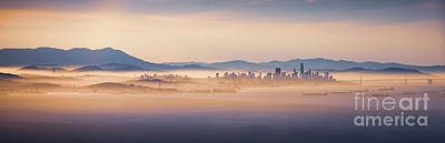 Photograph - Fog City by Heyengel