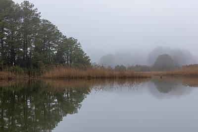 Target Threshold Photography - Fog Reflections by Lara Morrison