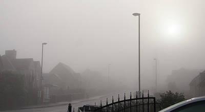 Photograph - Foggy Afternoon. by Elena Perelman